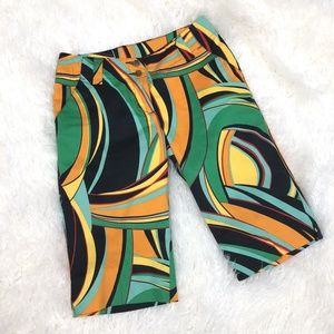 Loudmouth Golf Bermuda Shorts Size 2 XS Casual